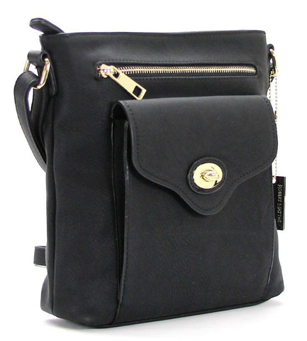 Robert Matthew Dakota Crossbody - Black