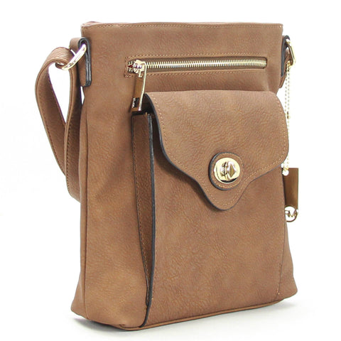 Robert Matthew Dakota Crossbody - Cocoa