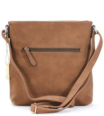 Handbag, Crossbody, Shoulder Bag - Robert Matthew Dakota Crossbody - Cocoa