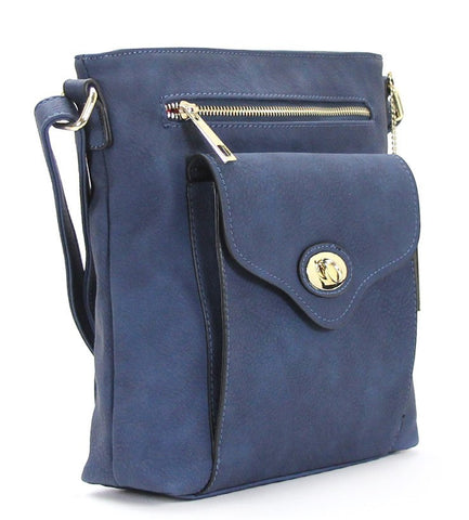 Robert Matthew Dakota Crossbody - Indigo