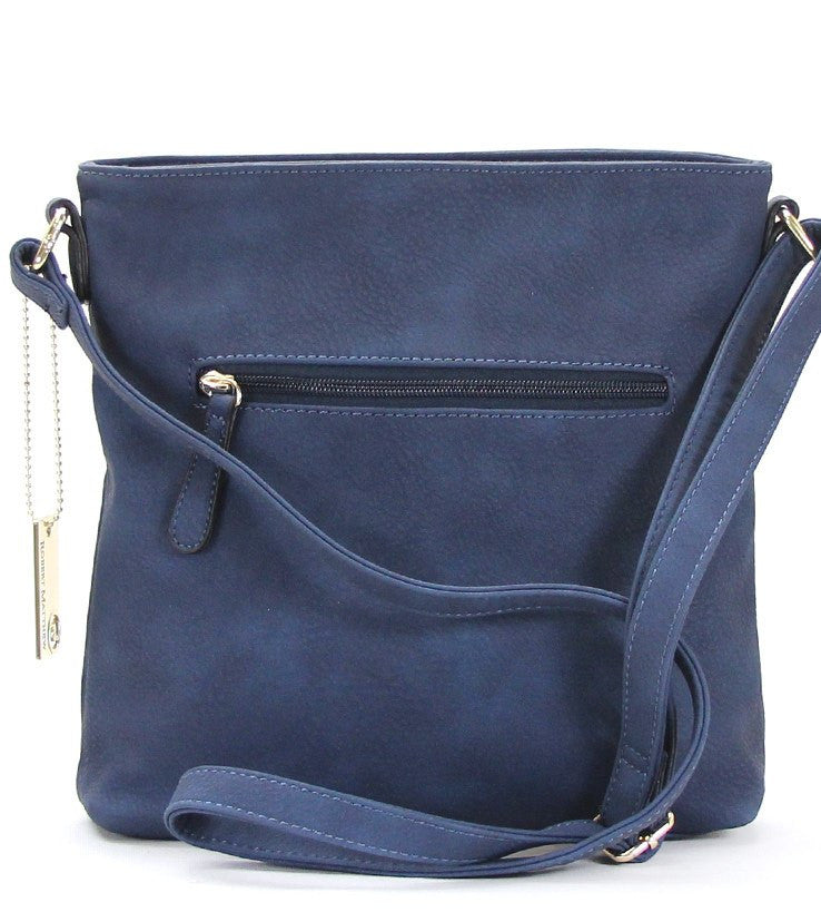 Handbag, Crossbody, Shoulder Bag - Robert Matthew Dakota Crossbody - Indigo