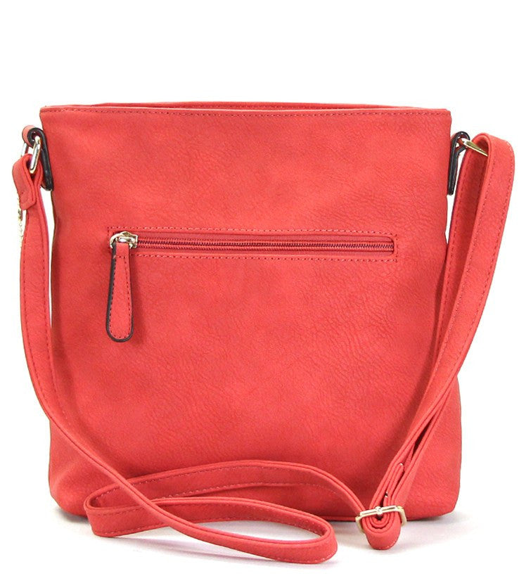 Handbag, Crossbody, Shoulder Bag - Robert Matthew Dakota Crossbody - Red Carpet
