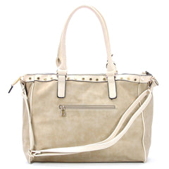 Handbag, Tote, Shoulder Bag - Robert Matthew Giana Tote - Beige