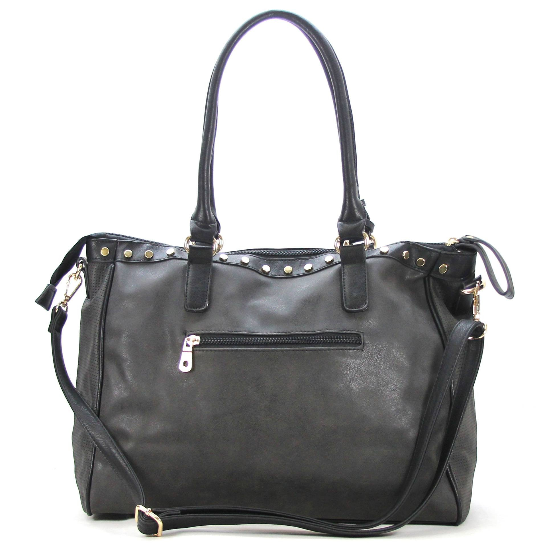 Handbag, Tote, Shoulder Bag - Robert Matthew Giana Tote - Black