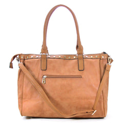 Handbag, Tote, Shoulder Bag - Robert Matthew Giana Tote - Cognac