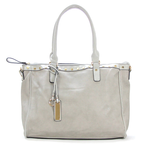 Robert Matthew Giana Tote - Platinum