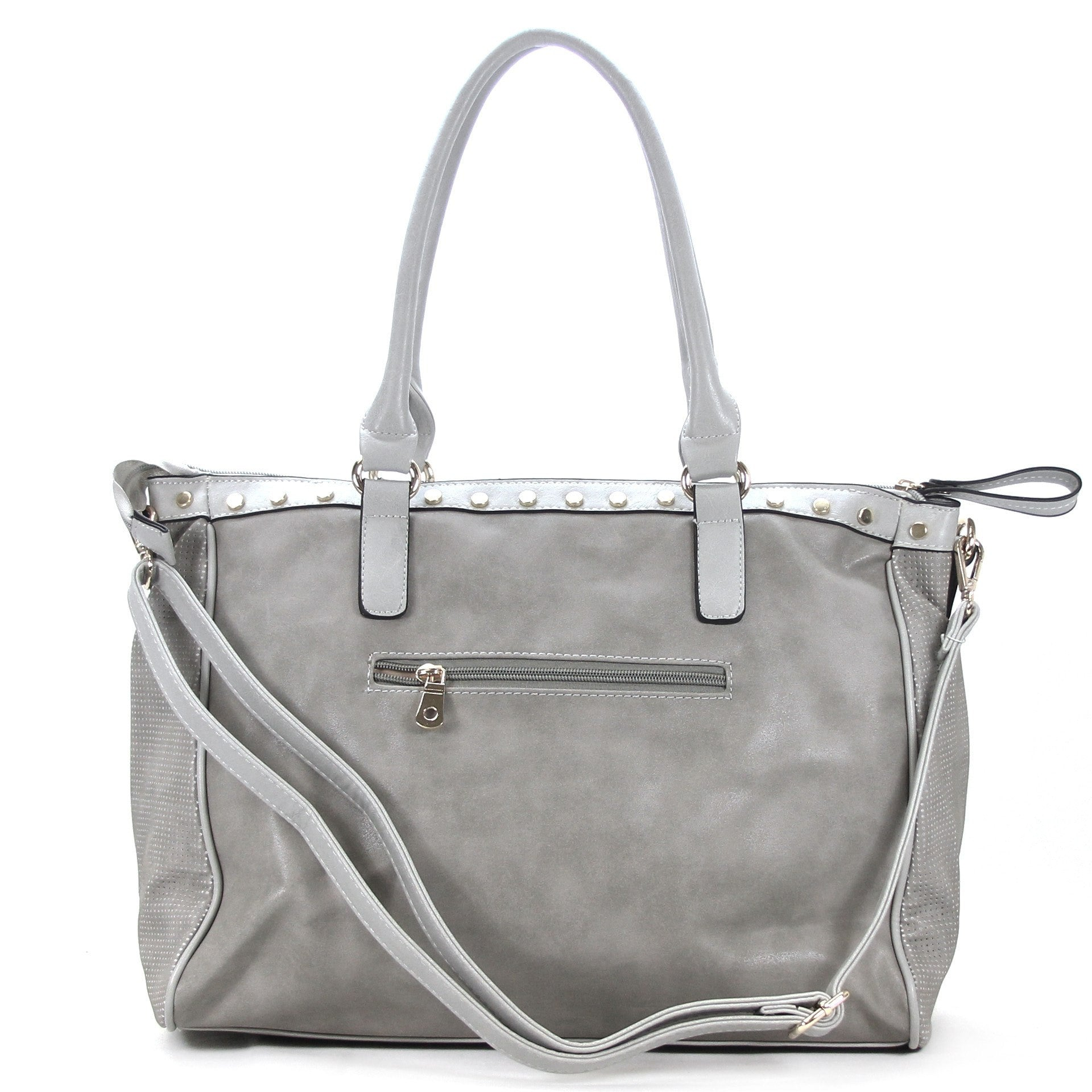 Handbag, Tote, Shoulder Bag - Robert Matthew Giana Tote - Platinum
