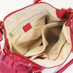 Handbag, Tote, Shoulder Bag - Robert Matthew Giana Tote - Strawberry