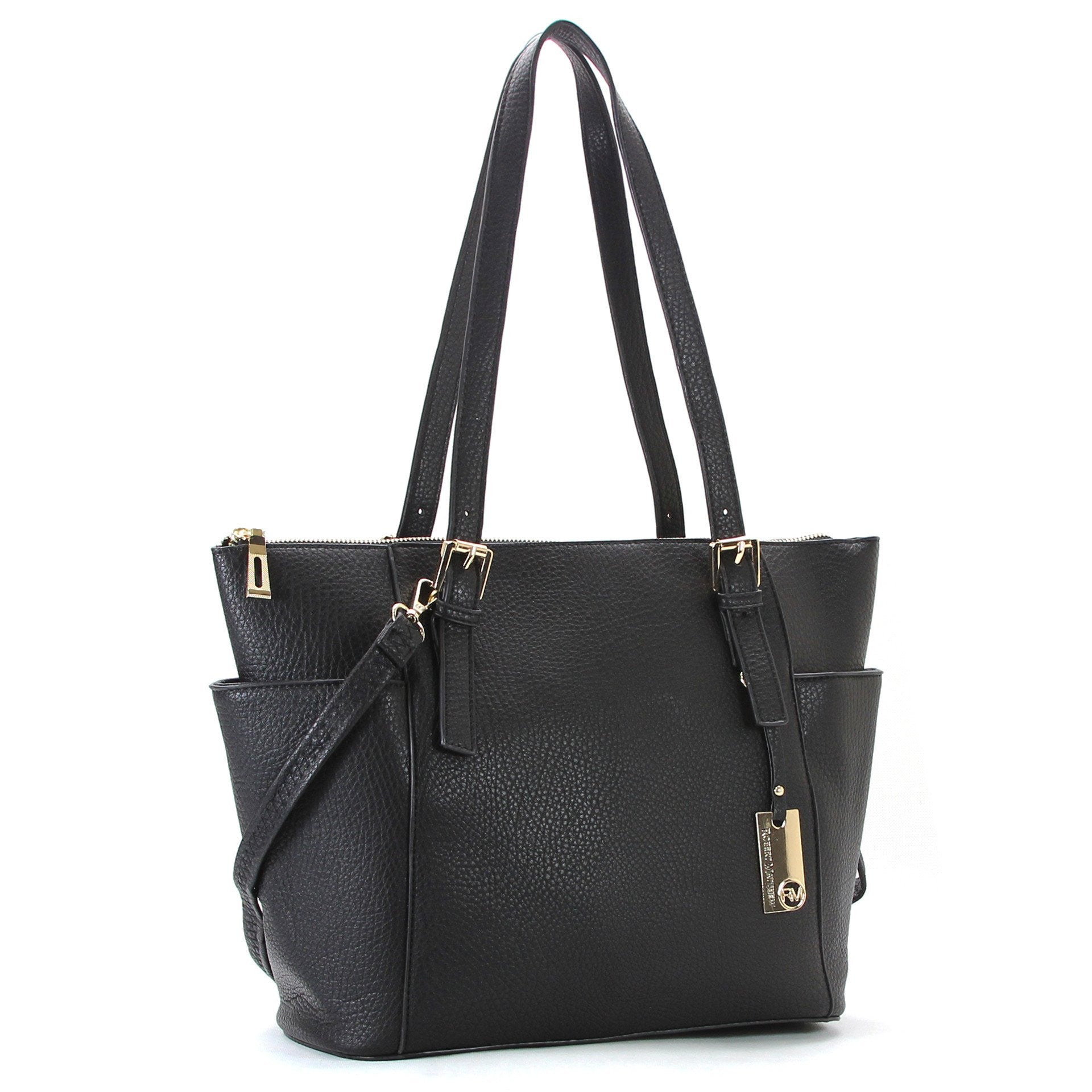 Handbag, Tote, Shoulder Bag - Robert Matthew Khloe Tote - Black