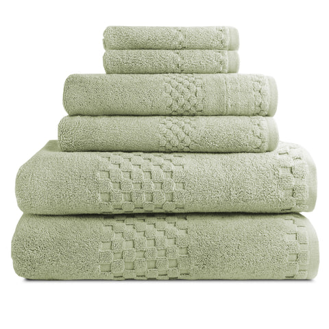 beverly hills luxury hotel resort bath towels sets of 6