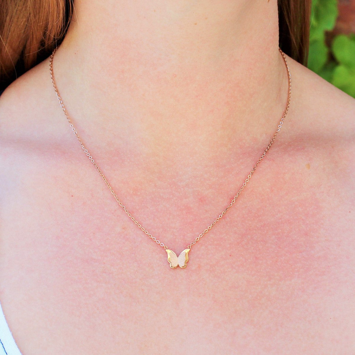 Necklace, Jewelry - Robert Matthew Emily Butterfly Necklace