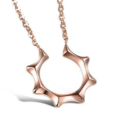 Necklace, Jewelry - Robert Matthew Rose Gold Brooklyn Necklace