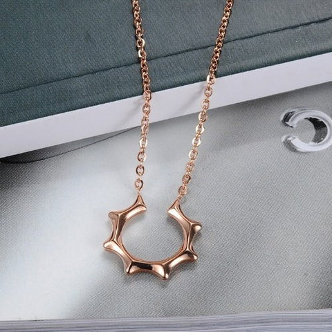 Robert Matthew Rose Gold Brooklyn Necklace