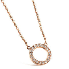 Necklace, Jewelry - Robert Matthew Rose Gold Isabella Necklace