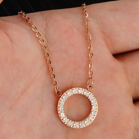 Robert Matthew Rose Gold Isabella Necklace