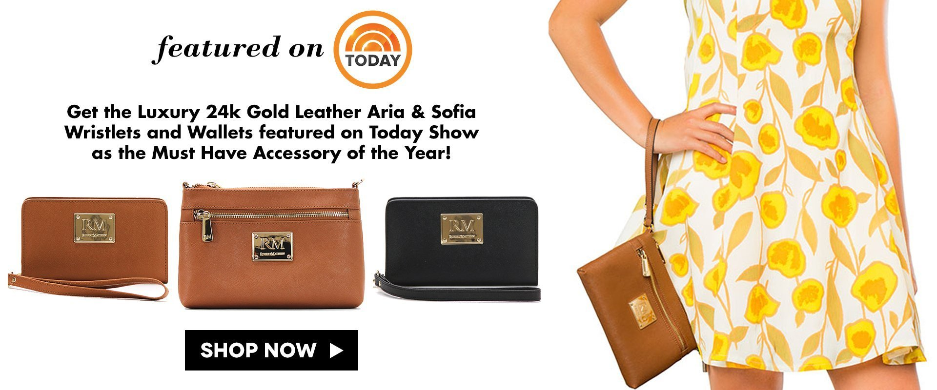 Shop the latest handbags, totes, shoulder bags, and satchels from Robert Matthew!