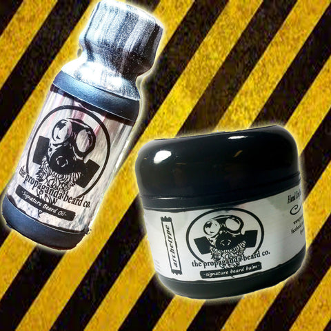 Signature Beard Oil and Balm Package.