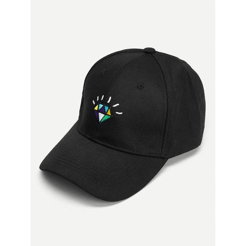 SHEIN - Diamond Embroidery Baseball Cap II Onyx Creative