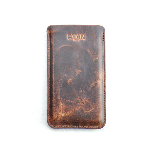 Leather iPhone Case - onyx-creative - 1
