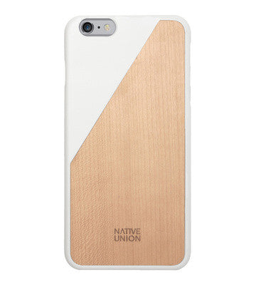 Native Union - Clic Wooden iPhone Case II Onyx Creative