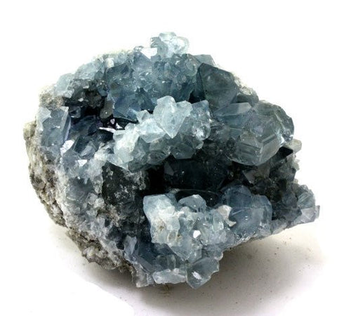 Onyx Creative - Blue Celestite Crystal Cluster from Madagascar II Onyx Creative