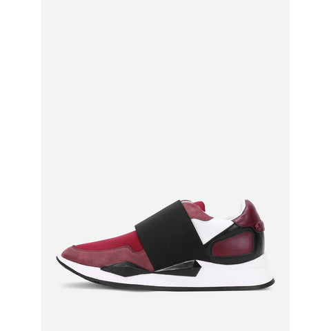 SHEIN - Two Tone Slip On Sneakers II Onyx Creative