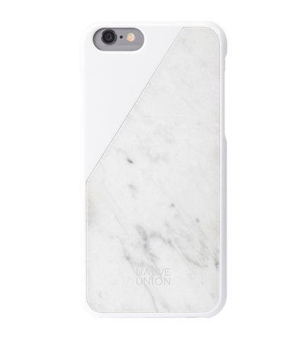 Native Union - CLIC Marble iPhone Case II Onyx Creative