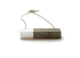Rectangle Concrete Necklace - onyx-creative - 3