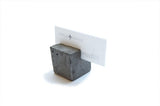 Maple + Mauve - Concrete Card Holder II Onyx Creative
