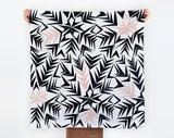 The Link Collective - Angles Furoshiki Scarf II Onyx Creative