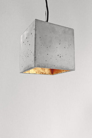 Gant Lights - Large Concrete hanging lamp B5 II Onyx Creative