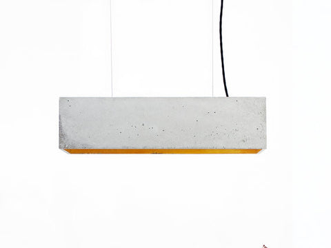 Gant Lights - Concrete hanging lamp B4 II Onyx Creative