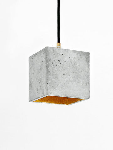 Gant Lights - Concrete Hanging Light B1 II Onyx Creative