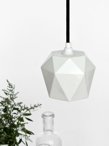 Gant Lights - Porzellan hanging lamp K1 II Onyx Creative