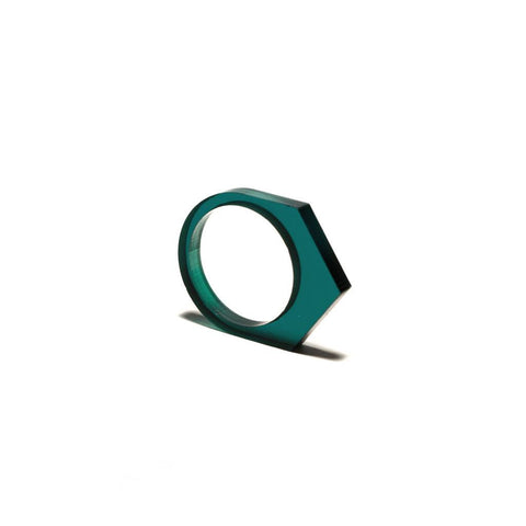 OFORM - Dark Green Ring acrylate No.1 | 1.0 II Onyx Creative