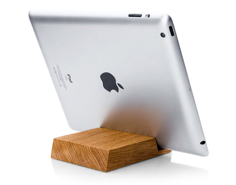 Batelier Handicraft - Oak iPAD Stand II Onyx Creative
