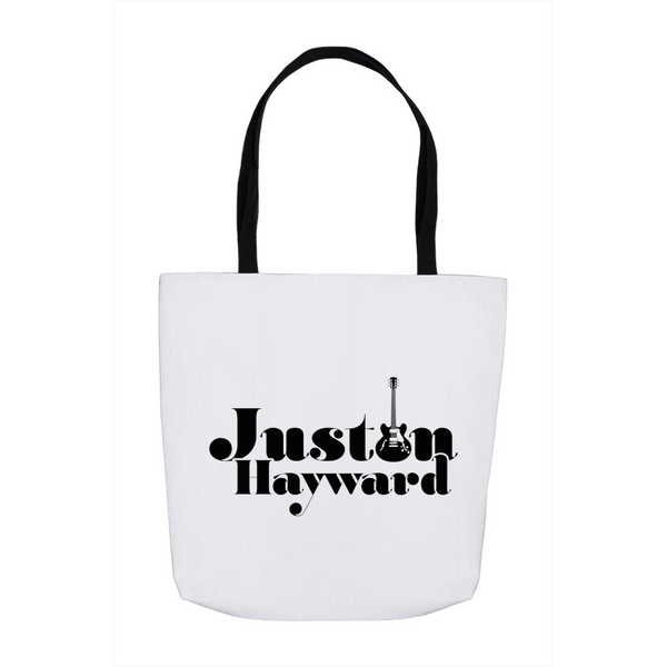 Justin Hayward Black Guitar Tote Bag