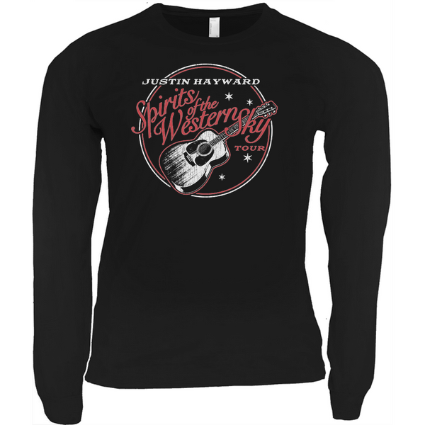 Justin Hayward Spirits Of The Western Sky Tour Long Sleeve Shirt