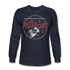 Justin Hayward Spirits Of The Western Sky Tour Men's Long Sleeve