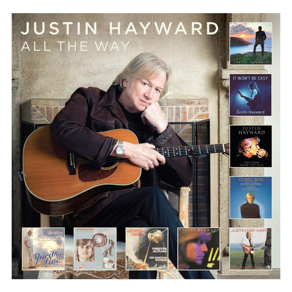 Justin Hayward - All The Way 2 CD Set