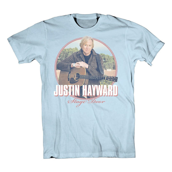 Justin Hayward Stage Door Photo Tee