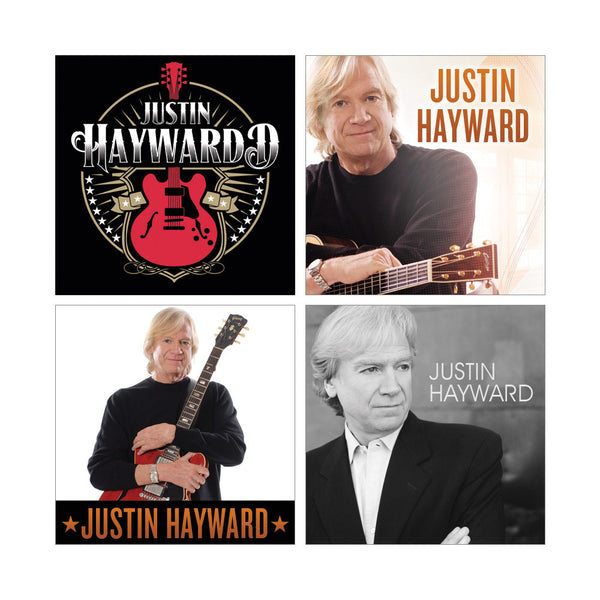 Justin Hayward 4 pc Magnet Set