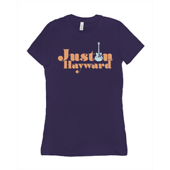 Justin Hayward Guitar Tee (women's)