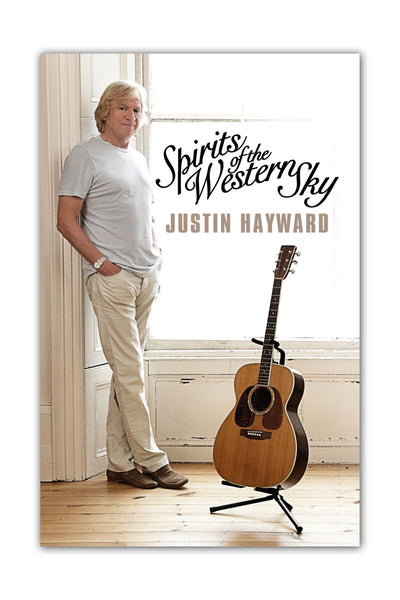 "Justin Hayward ""Spirits Of The Western Sky"" Poster"