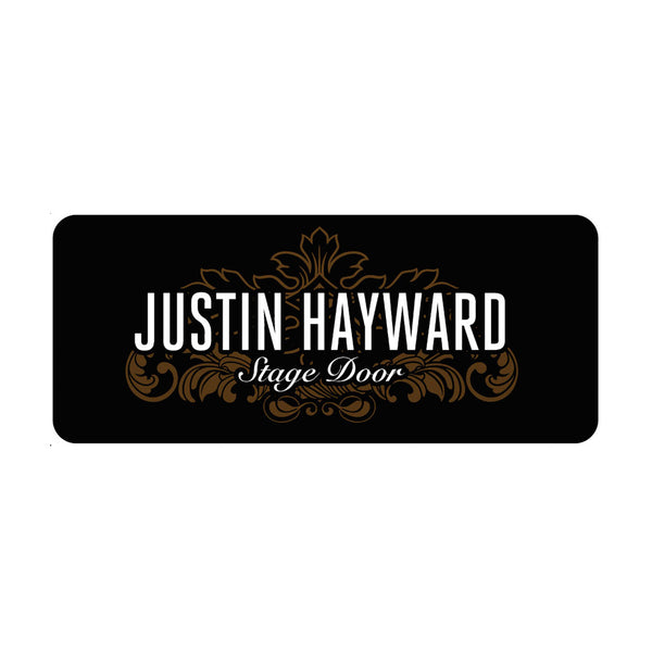 Justin Hayward Stage Door Pick Tin Set