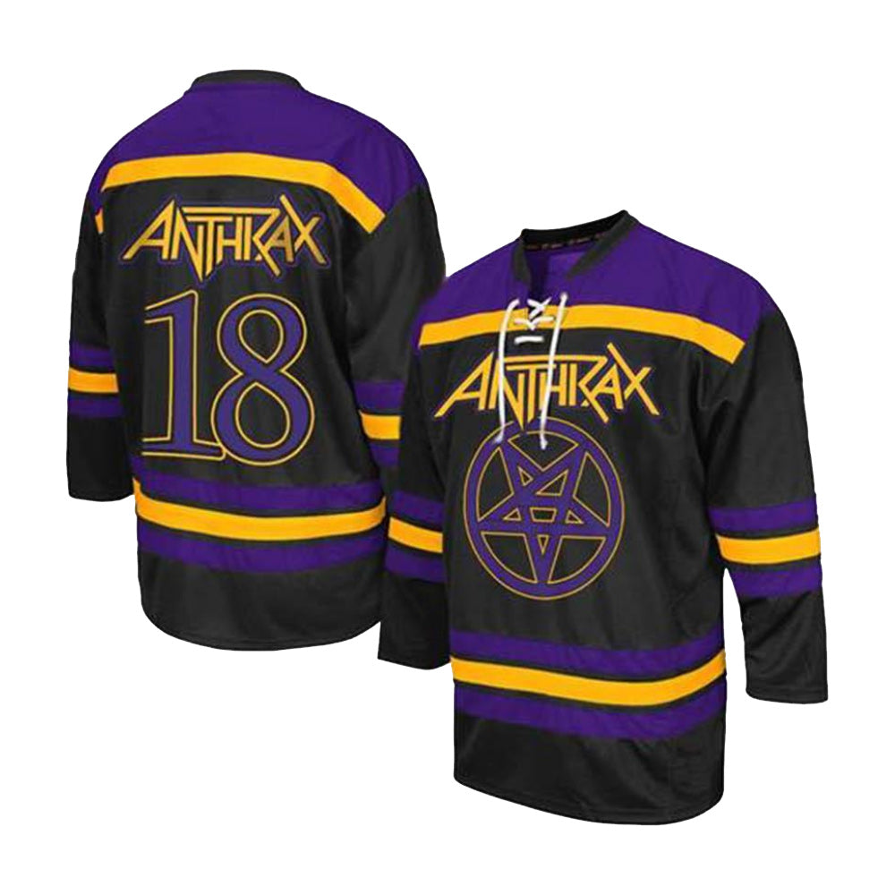 90d0a93eda7 Purple and Gold Hockey Jersey