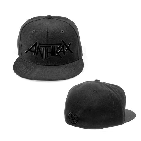 Logo and Pentathrax Black on Black Hat