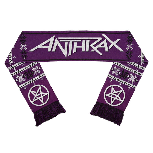 Purple Winter Scarf