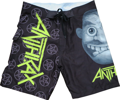 Anthrax Not Man Board Short