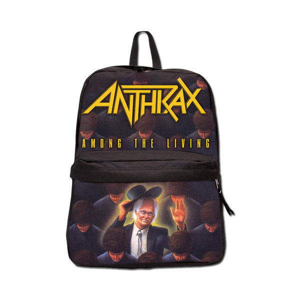 Antrax Among The Living Backpack